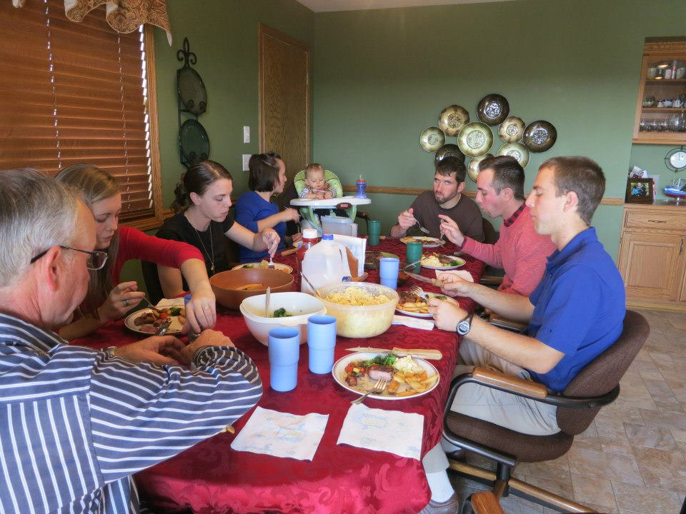 ruskamp family supper