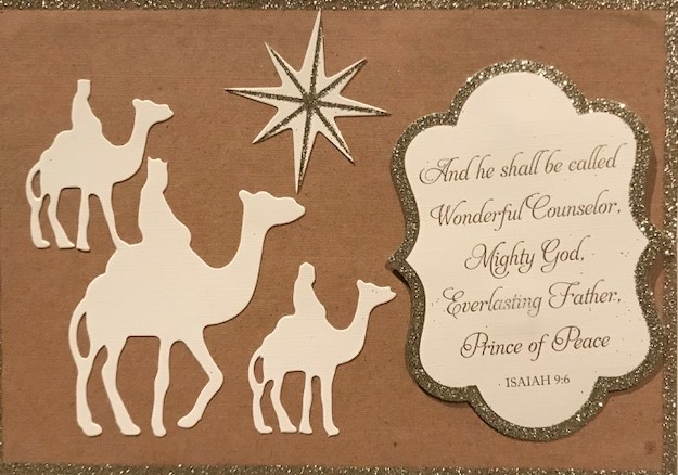 wise men card