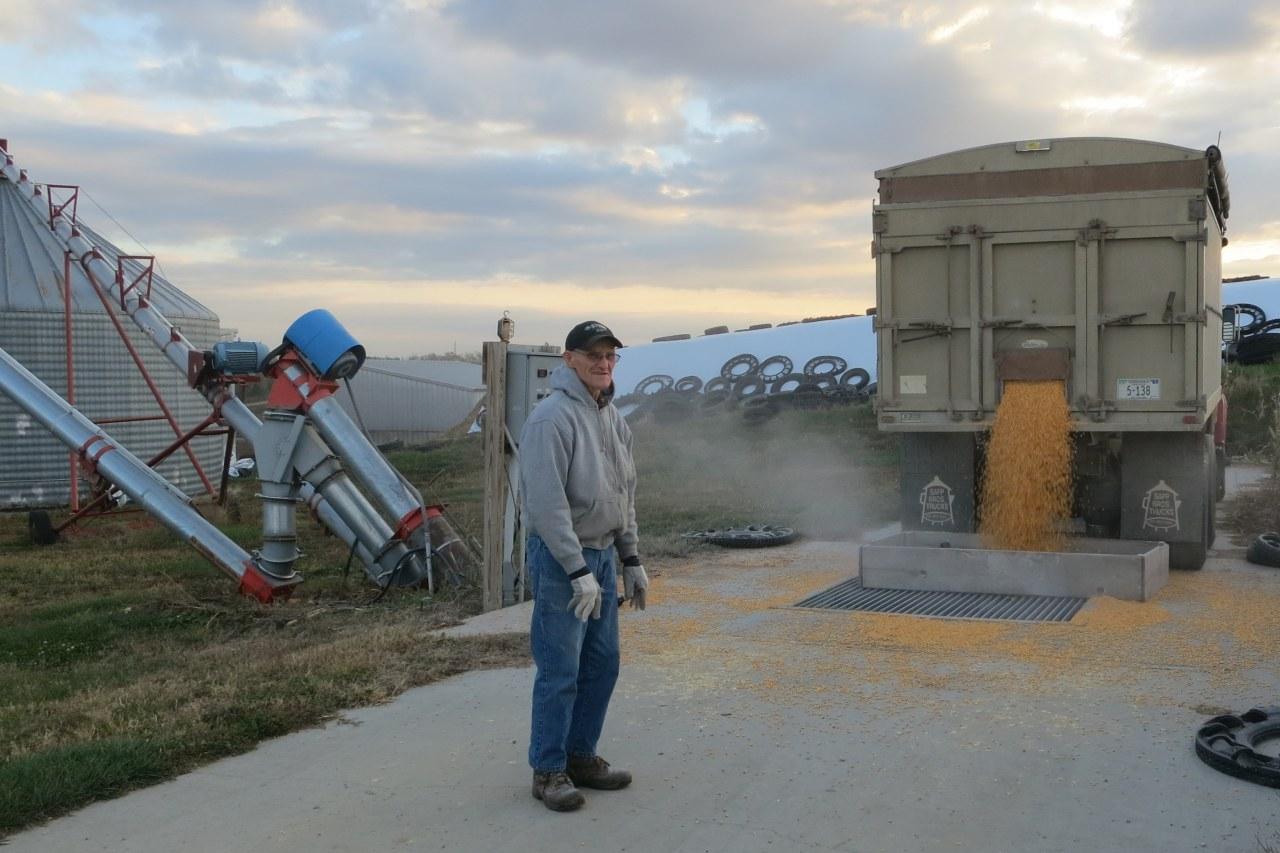 gpa ruskamp unloading corn